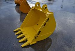"42"" digging bucket 80mm pin holes"
